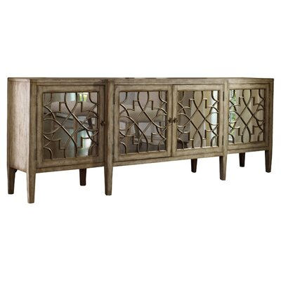 Hooker Furniture Mirrored Server & Reviews