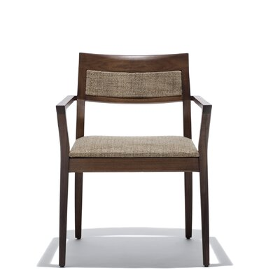 Marc Krusin Arm Chair with Upholstered Back