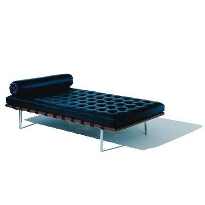 Knoll ® Barcelona Couch with Black Straps