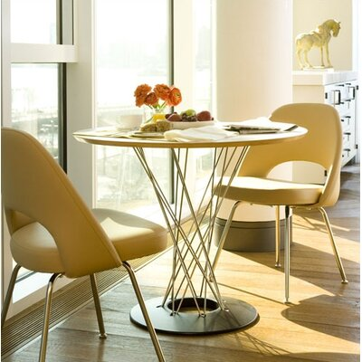 Noguchi Cyclone� 3 Piece Dining Table with Saarinen Executive Chairs