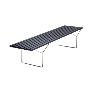 Bertoia Stainless Steel Picnic Bench