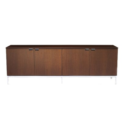 Knoll ® Florence Four Position Credenza with Four Cabinets