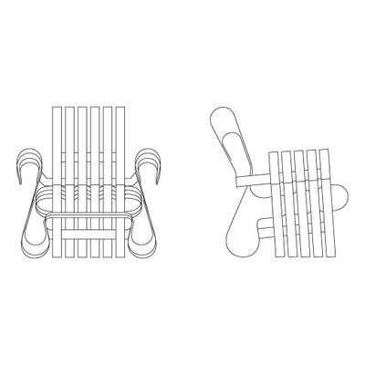 Knoll ® Frank Gehry Power Play Arm Chair