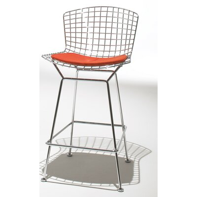 Knoll ® Bertoia Counter Stool with Seat Pad