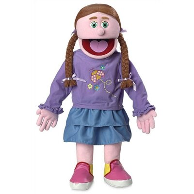 "Silly Puppets 30"" Amy Professional Puppet with Removable Legs in Pink"