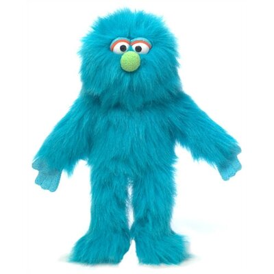 "Silly Puppets 14"" Blue Monster Glove Puppet"