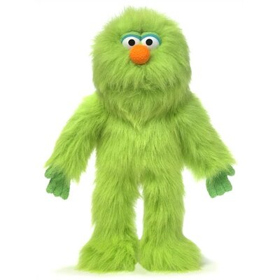 "Silly Puppets 14"" Green Monster Glove Puppet"