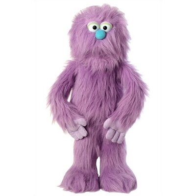 "Silly Puppets 30"" Purple Monster Puppet"