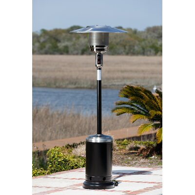 Fire Sense Hammer Tone and Stainless Steel Commercial Patio Heater