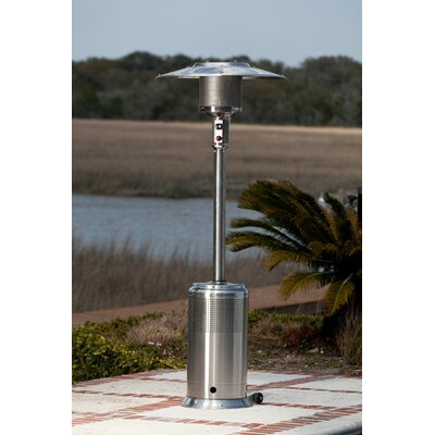 Fire Sense Pro Series Stainless Steel Electric Patio Heater