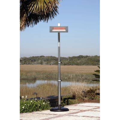 Fire Sense Glass Face Electric Patio Heater