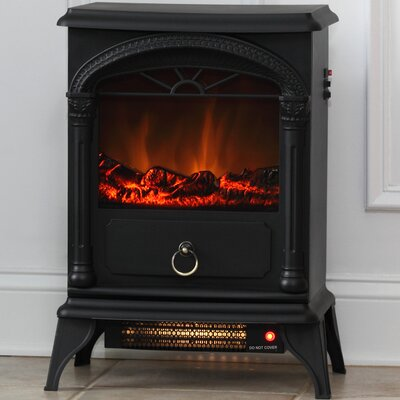 Fire Sense Vernon 120 Square Foot Electric Fireplace Stove