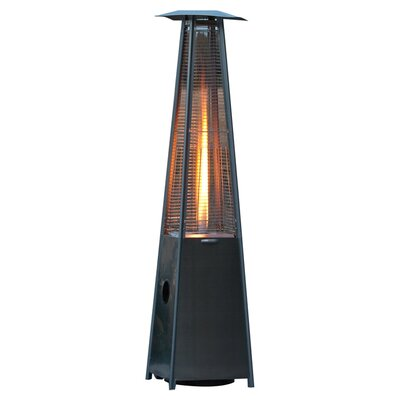 Fire Sense Pyramid Flame Propane Patio Heater