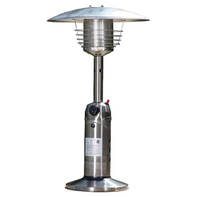 Fire Sense Table Top Propane Patio Heater