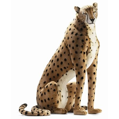 Hansa Toys Life Size Cheetah Stuffed Animal