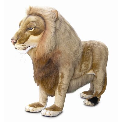 Hansa Toys Ride-On Life Size Lion Stuffed Animal