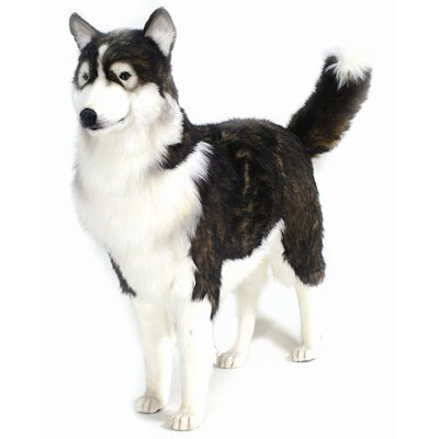 Hansa Toys Life Size Husky Dog Stuffed Animal