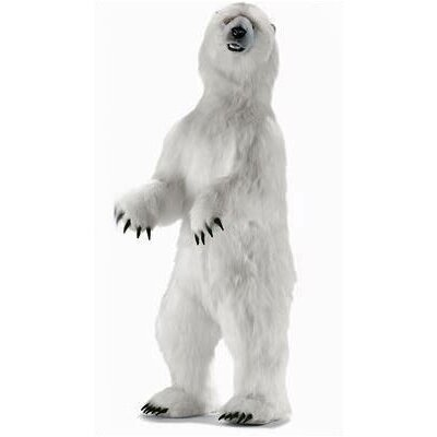 Hansa Toys Standing Upright Polar Bear Stuffed Animal