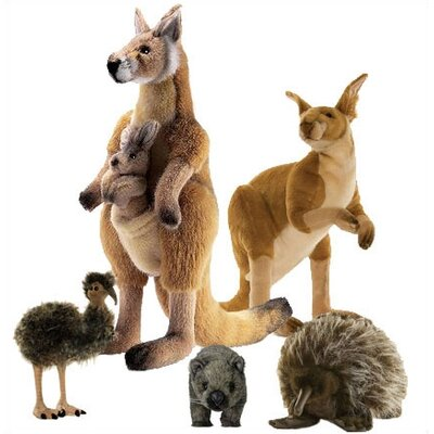 Hansa Toys Outback Stuffed Animal Collection I
