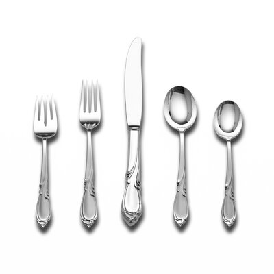 Rhapsody 46 Piece Flatware Set and Serving Setting