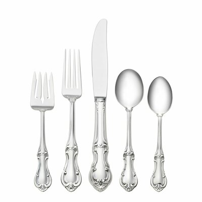 International Silver Joan of Arc 5 Piece Flatware Set