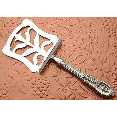 Wallace Rose Point Petit Four Server with Hollow Handle