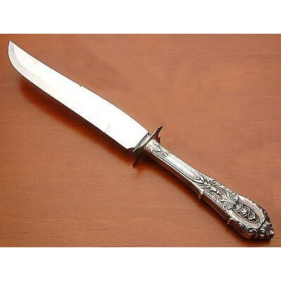 Sterling Silver Rose Point Steak Carving Knife