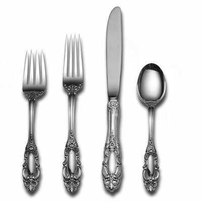 Sterling Silver Grande Duchess 66 Piece Flatware Set