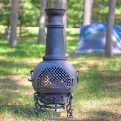 The Blue Rooster Gatsby Style Chiminea