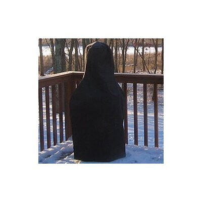 The Blue Rooster Extra Large Chiminea Cover in Black
