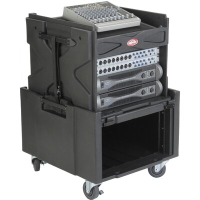 SKB Cases Roti Mini Gig Rig Audio / Video / Media Case with Pop - Up Rack