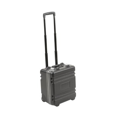 "SKB Cases Pull Handle Case without Foam: 14.5"" H x 13.13"" W x 7.63"" D (Interior)"