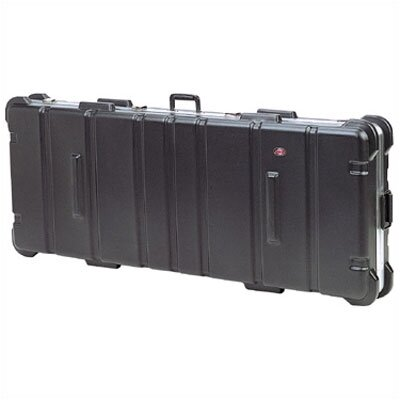"SKB Cases Low Profile ATA Case:  7 9/16"" H x 54 3/8"" W x 14 13/16"" D  (outside)"