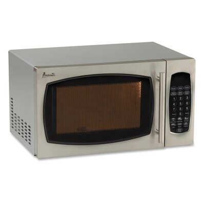 "Avanti Products Touch Screen Microwave,900 Watts,19""x15-3/4""x11"",STST"