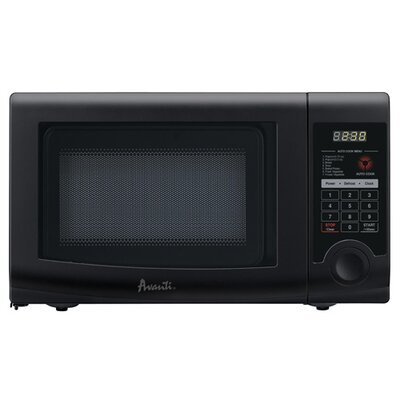 Avanti Products 0.7 Cubic Ft. Microwave in Black