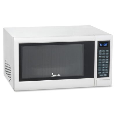 Avanti 1.2 Cu. Ft. 1000 Watt Electronic Microwave with Touch Pad