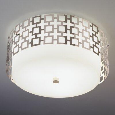 Robert Abbey Jonathan Adler Parker Flush Mount