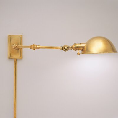 Robert Abbey Ant Bee Pharmacy Swing Arm Wall Lamp