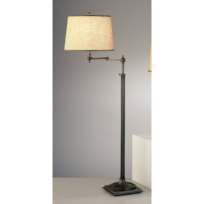 Robert Abbey Winston Swing Arm Floor Lamp | Wayfair