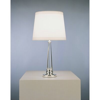 Robert Abbey Lucidity Accent Table Lamp in Acrylic with Silver Plated Accents