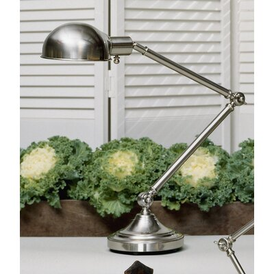 """Robert Abbey Kinetic 7.5"""" H Adjustable Table Lamp with Bowl Shade"""