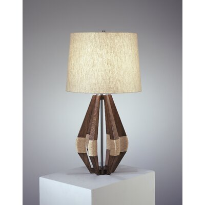 "Robert Abbey Wauwinet Jonathan Adler 28.25"" H Table Lamp with Drum Shade"