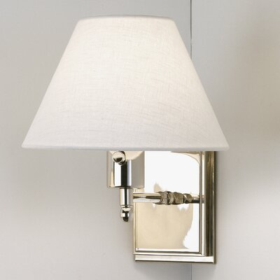 Robert Abbey David Easton Meilleur Fixed Arm 1 Light Wall Sconce