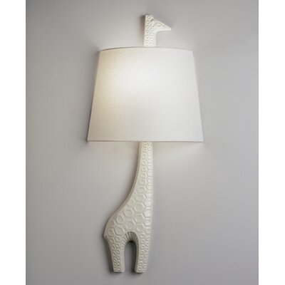 Robert Abbey Jonathan Adler Right Facing Giraffe 1 Light Wall Sconce