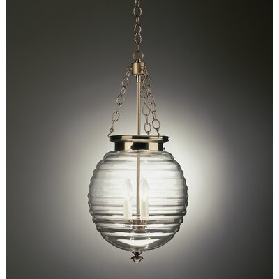 Beehive 3 Light Foyer Pendant
