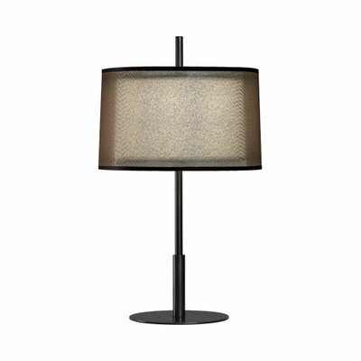 "Robert Abbey Saturnia 22.75"" H Table Lamp with Drum Shade"