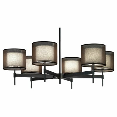 Robert Abbey Saturnia 6 Light Chandelier