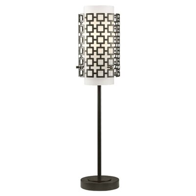 """Robert Abbey Parker Buffet 30.25"""" H Table Lamp with Drum Shade"""