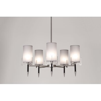 Robert Abbey Emile 5 Light Chandelier