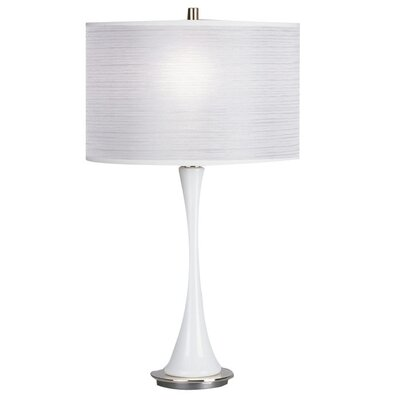 """Robert Abbey Kate Small 25"""" H Table Lamp with Drum Shade"""